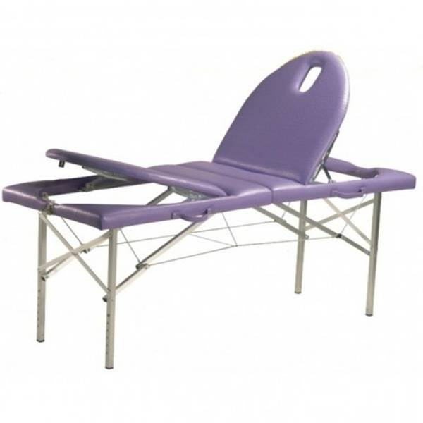 table de massage en bois pliante