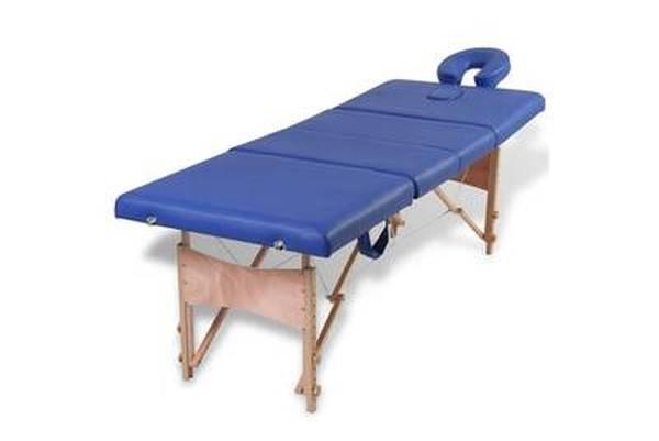 table de massage 3 zones pliables