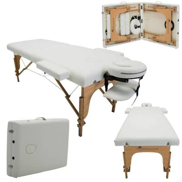 table de massage linxor 2 zones