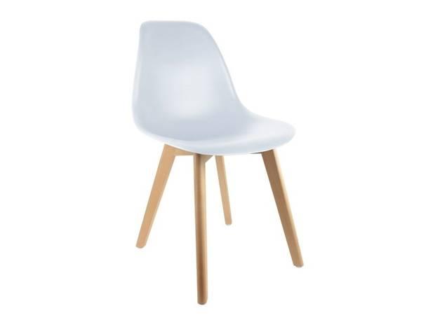 fauteuil scandinave tissu noir et blanc