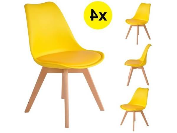 chaises scandinave avec coussin