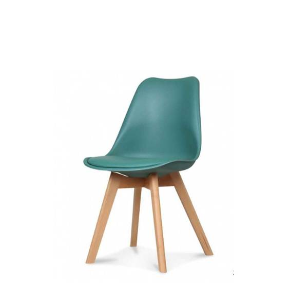 chaise scandinave assise tissu