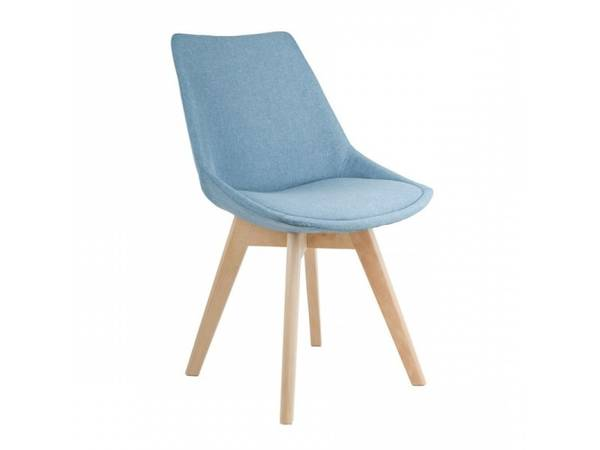 chaise scandinave blanche pied metal